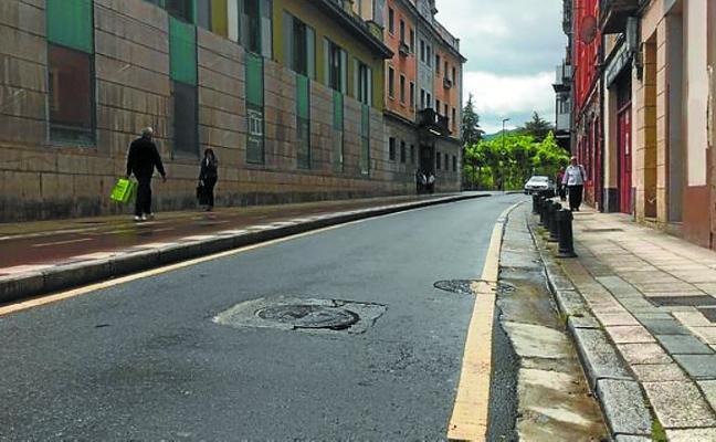 La calle Iturrioz, en la Portería, se cerrará al tráfico el día 15 por trabajos a realizar en su vial