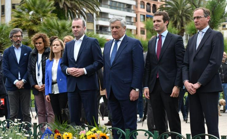 Homenaje del PP a las víctimas del terrorismo