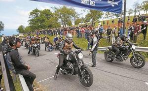 3.000 motos llegan hoy desde Biarritz