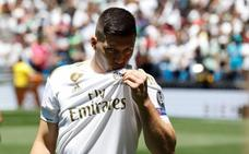 Jovic abre el baile de estrellas en el Bernabéu