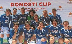 OKEko emakumezkoen taldea Donosti Masters CUP 6. edizioan