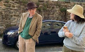 Woody Allen visita La Concha y Pasai Donibane