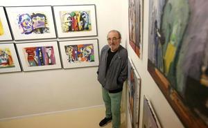 Zumeta expone 23 pinturas en la galería Ekain, fiel a su propio estilo