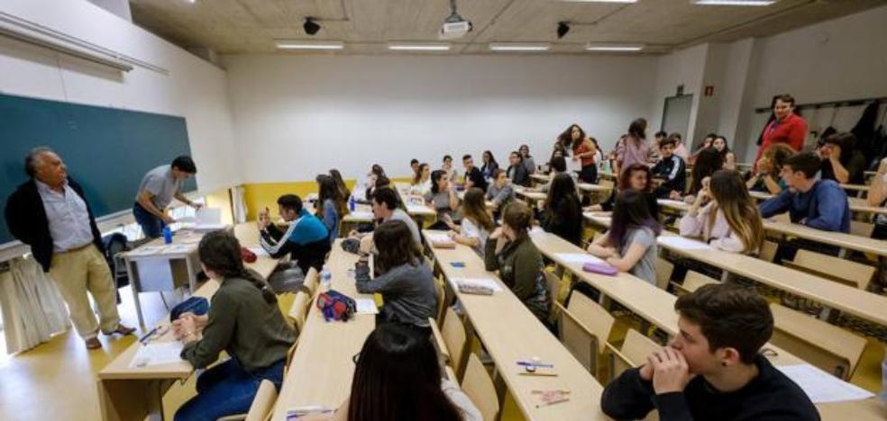 El 97,53% de los alumnos vascos que se presentó a Selectividad la ha aprobado