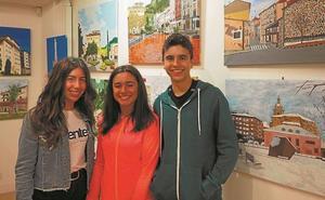 Alumnos de Bellas Artes exponen su visión de Zumarraga y Urretxu