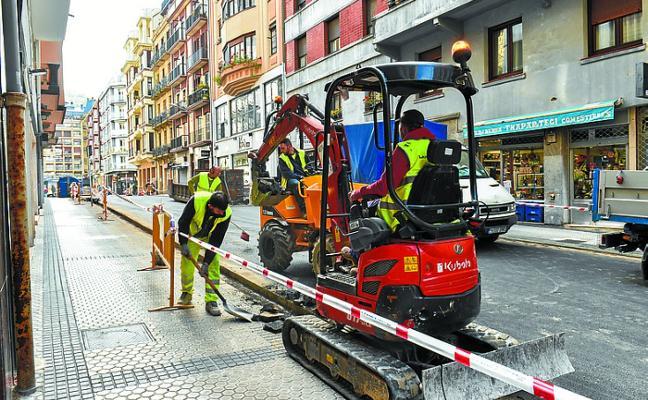La peatonalización de la calle Carquizano será una realidad a finales de mes