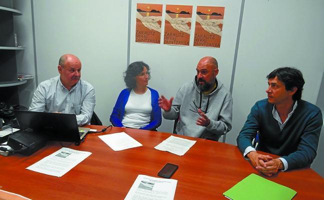 Primer aniversario de la iniciativa 'Zarautz, ciudad cuidadora'