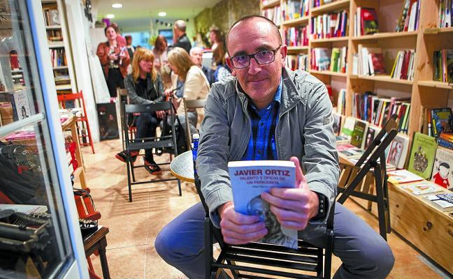 El irunés Mikel Iturria rinde homenaje «al periodismo independiente»