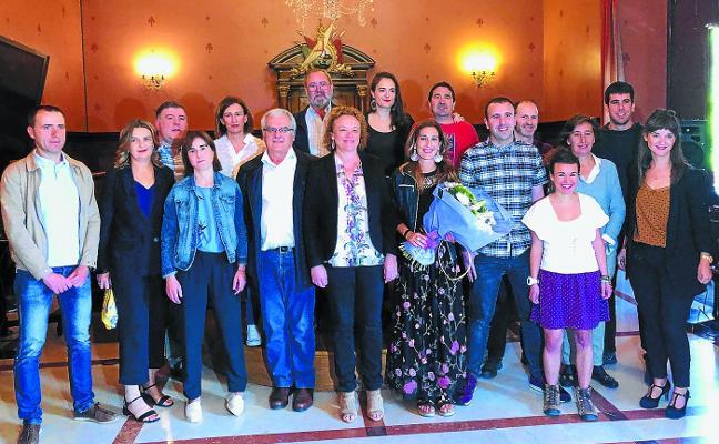 Izaro Elorza estrena alcaldía «ilusionada y comprometida»