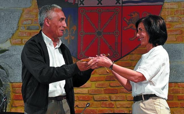 Olatz Peon, reelegida alcaldesa en un Pleno conciliador y con alusiones al trabajo en común