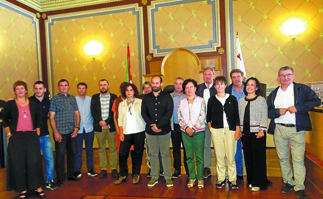 Gorka Artola nombrado alcalde con los nueve votos de la mayoría absoluta de EH Bildu
