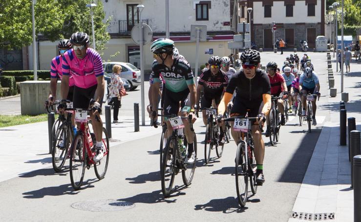 Las imágenes de la marcha cicloturista Juanma Garate