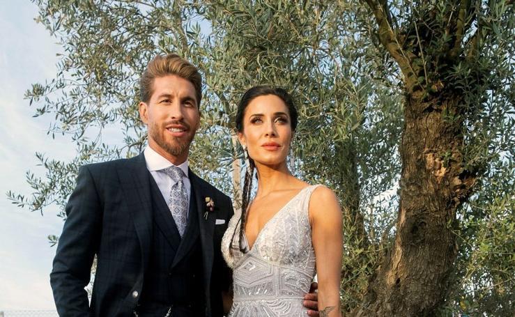 Fotos de la boda de Sergio Ramos y Pilar Rubio