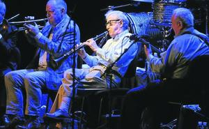 Woody Allen disfruta en su otro papel