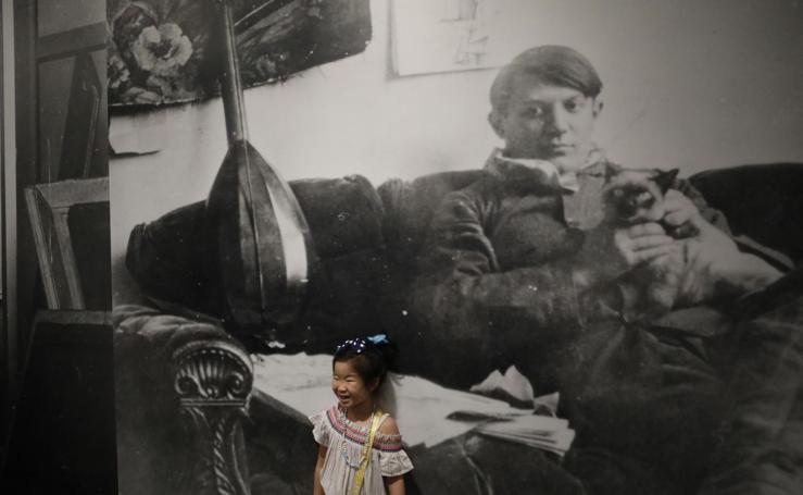 Picasso enamora a China