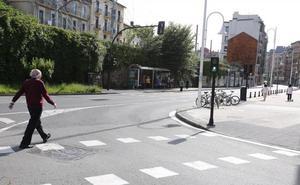 Buscan al agresor que dejó en estado crítico a un hombre de 61 años en Donostia