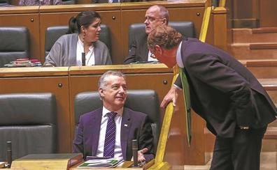 Urkullu intentará que las fricciones por el poder municipal no sepulten su Presupuesto