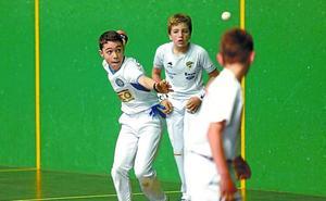 El torneo Memorial Zuloaga de pelota ya tiene campeones alevines, infantiles y cadetes