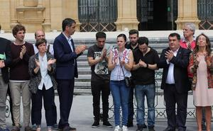 Donostia muestra su repulsa por la agresión que provocó la muerte del vecino de Errenteria