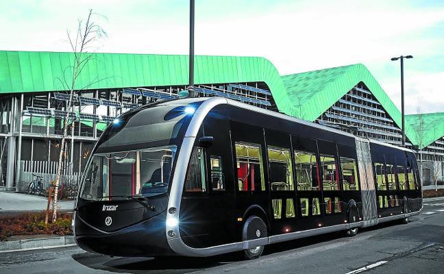 Ingeniería de Arrasate para el bus eléctrico inteligente de Vitoria