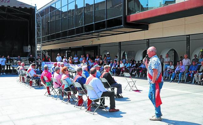 Los jubilados convocan una manifestación en Lasarte-Oria para reivindicar unas «pensiones justas»