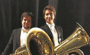 Andoni Moñux actuó con la Orquesta Sinfónica de Euskadi