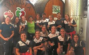 El seven femenino visita Ordizia