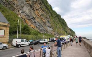Fallece una mujer al precipitarse desde el monte Urgull
