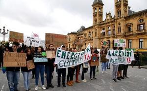 Los jóvenes vuelven mañana a las calles de Donostia para pedir medidas contra el cambio climático