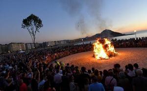 Prohibido encender hogueras en las playas en la noche de San Juan