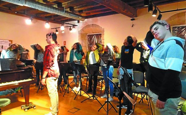 Orfeoi Gazte estrena hoy la concha acústica de Se