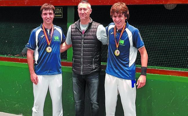 Ander Monserrat ganó el Open de España y el Campeonato de Euskadi