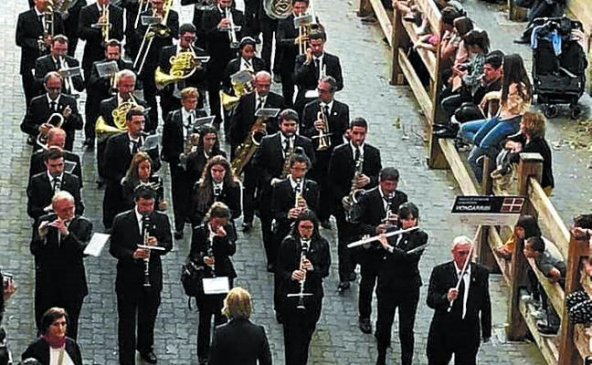 La Banda participó en el homenaje a La Pamplonesa