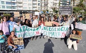 Los jóvenes guipuzcoanos piden que se declare en Euskadi el estado de emergencia climática