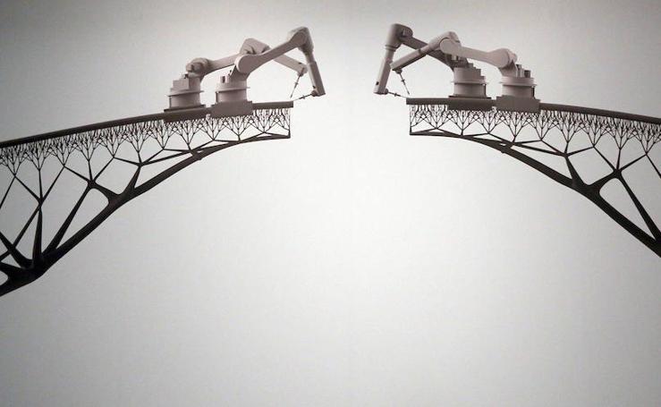 'Hello, robot, el diseño entre el humano y la máquina', en imágenes