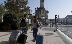 Gipuzkoa registra un aumento de las pernoctaciones del 7,2% en lo que va de año