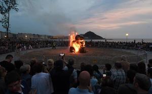 San Juan 2019 | Una noche de San Juan sin grandes sobresaltos en Donostia