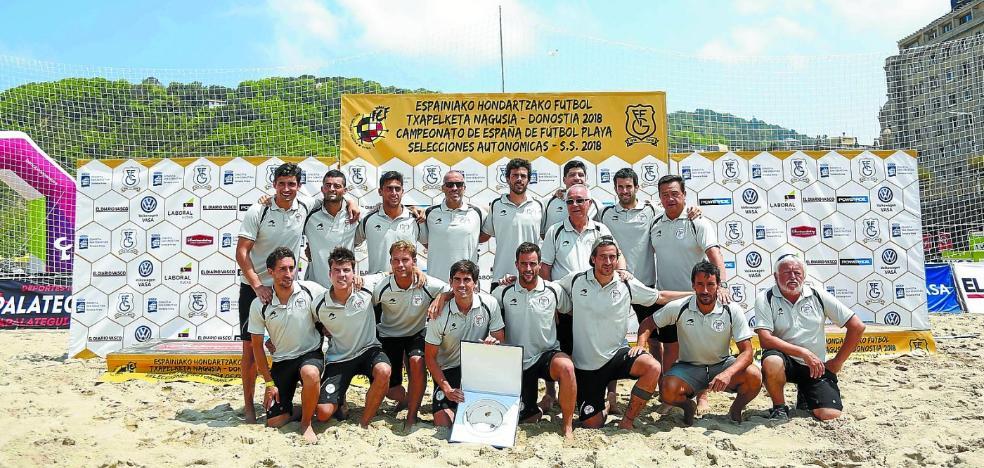 Euskadi, Donostia y el fútbol playa
