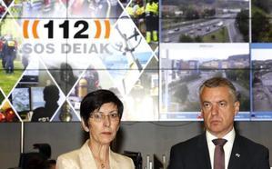 El lehendakari presenta el nuevo centro de gestión de Tráfico y Emergencias de Euskadi