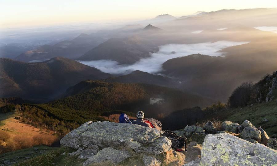 Cinco rutas para realizar este verano por Gipuzkoa