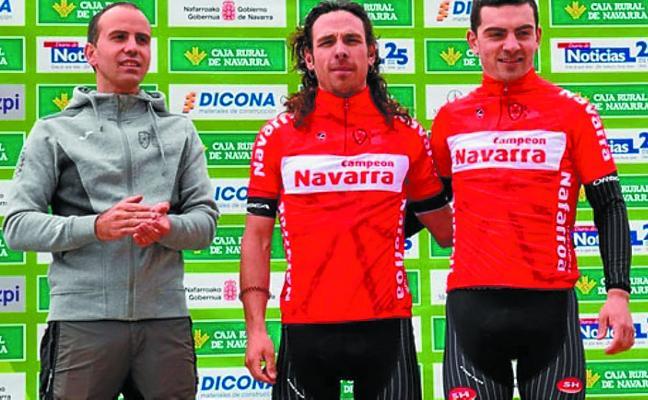 Sein gana en Dicastillo y se proclama campeón de Navarra de BTT sub23