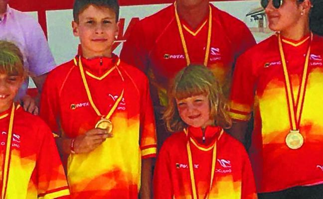 La lesakarra Uxuri Portu, nueva campeona de España con seis años