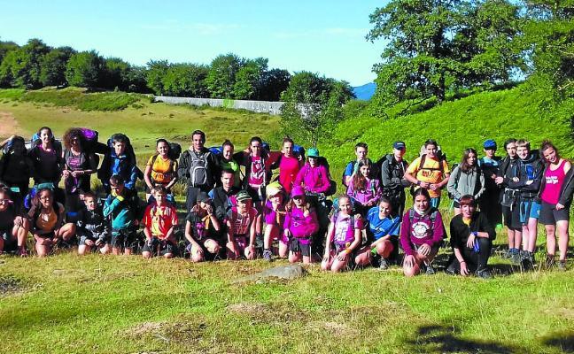 En marcha los campamentos de verano en euskera en la comarca