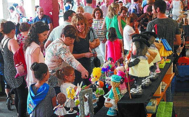 La feria de arte y artesanía de Zumarraga contará con una treintena de participantes
