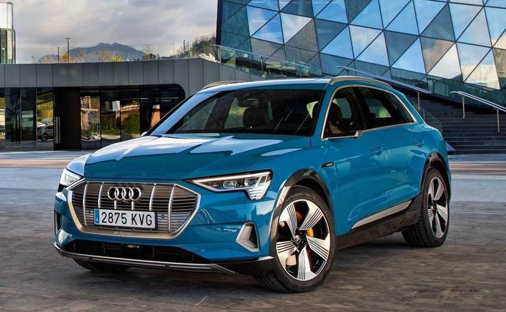 e-tron, el primer Audi eléctrico en fotos