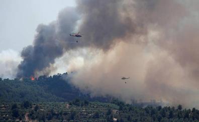 El incendio de Tarragona está perimetrado y en vías de estabilización
