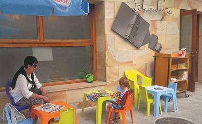 El Biblioparque de Urretxu se instalará del 4 al 19 de julio