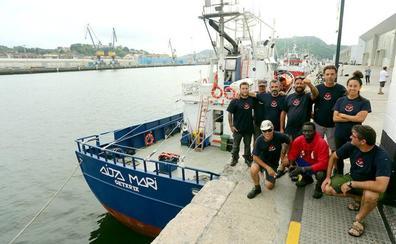 El 'Aita Mari' pretende regresar a Grecia en agosto