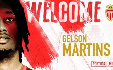 El Atlético se desprende de Gelson Martins