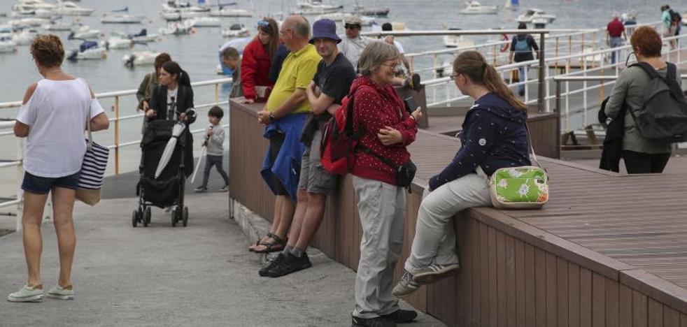Regresa el calor sofocante a Gipuzkoa, pero se prevé un julio «corriente»